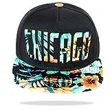 Glamexx24 Unisex Basecap Starter Hat Hip Hop Cap Schirmmütze Baseballcap Baseball Mütze Kappe (30183 Schwarz)