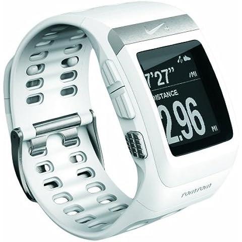 TomTom Nike+ Sportswatch GPS - GPS para carrera, color blanco
