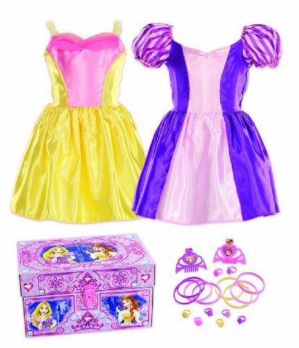 Disney Princess Bling Rapunzel and Belle Dress-Up Trunk by Disney (Up Trunk Princess Disney Dress)