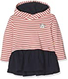 Bellybutton mother nature & me Baby-Mädchen Kleid 1/1 Arm m. Kapuze, Mehrfarbig (Y/D Stripe 0001), 74