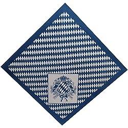 Tobeni - Fular - Lunares - para mujer Bayern Wappen klein Talla única