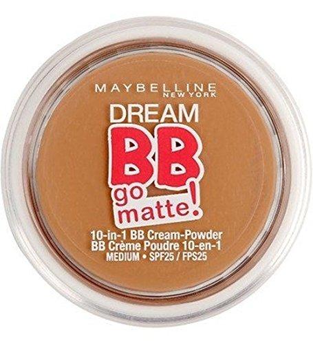 Maybelline Dream BB Go Matte 10 in 1 BB Cream-Powder 11g SPF25 - Medium