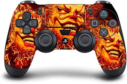 PS4 Dualshock Wireless Controller Pro Konsole Playstation4 mit weichem Griff & Exklusive, individuelle Version Skin Nicht modifiziert (PS4-Joker Clown) Dream-team-bundle