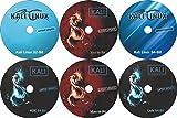 #10: 6 DVD Pack Kali Linux 64 Bit + Kali Linux Xfce 64 Bit + Kali Linux Mate 64 Bit + Kali Linux Lxde 64 Bit + Kali Linux kde 64 Bit + Kali Linux 32 Bit+ Bootable Installation (2018.1 Latest Version)