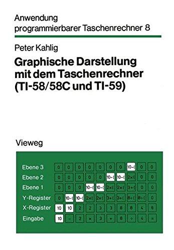 Graphische Darstellung mit dem Taschenrechner (TI- 58/58 C und TI-59). Mit 88 Programmen, 26 Beispielen
