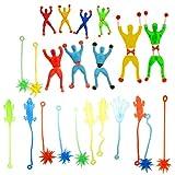 Grands jouets pour enfants et jouets de fête d'adolescent! Également recommandé pour le jeu en extérieur.     Les jouets collants super-flexibles et non-toxiques peuvent être étirés à plus de 10 fois la longueur d'origine.     Si vous souhaitez les ...