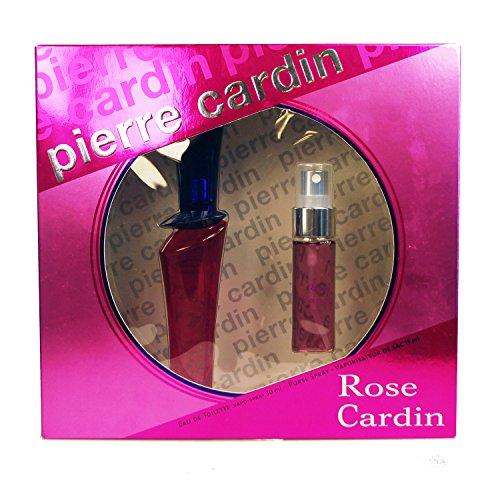 Pierre Cardin, Rose, Set da regalo per donna, incl. Eau de Toilette (30 ml) e vaporizzatore da borsetta (15 ml)