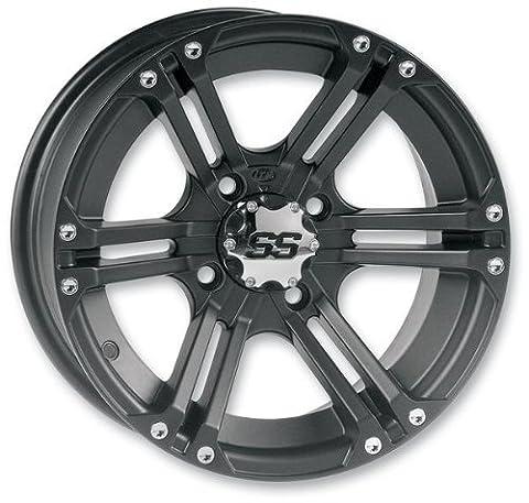 ITP SS212 Wheel - 14x8 - 5+3 Offset - 4/156 - Black , Wheel Rim Size: 14x8, Rim Offset: 5+3, Color: Black, Bolt Pattern: 4/156, Position: Rear 1428376536B by ITP