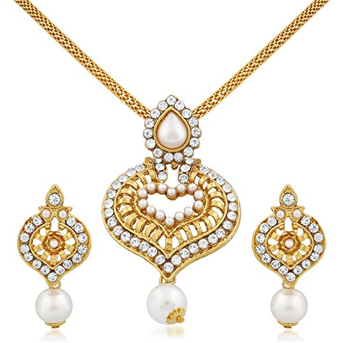 Apara Heart Shape Pendant Set for women