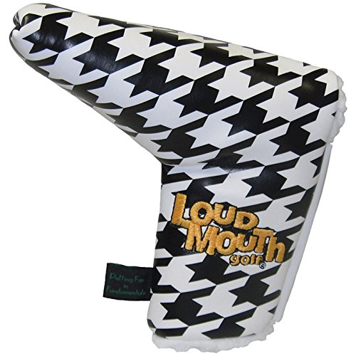 winning-edge-loudmouth-hounds-tooth-putter-novelty-golf-headcover-multi-colour