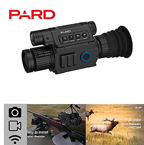 Changli Pard NV008 Nachtsicht Jagd Zielfernrohr IR-Kamera Monokular 6.5X 12X Infrarot-Nachtsichtgerät Integrierte IR-Beleuchtung WiFi HD Digital Recording Image Video