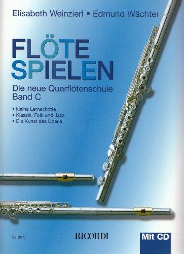 Flöte spielen C - Große Flöte