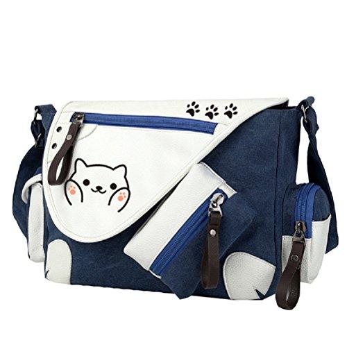 YOYOSHome - Bolsa bandolera con diseño de gato de...