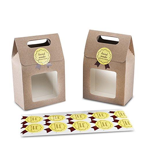 Syndecho - Juego 24 bolsas rígidas dulces galletas