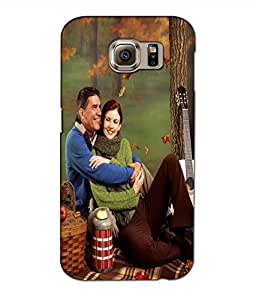 Crazymonk Premium Digital Printed 3D Back Cover For Samsung Galaxy S6 Edge Plus