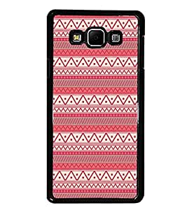 PrintDhaba Tribal Pattern D-5418 Back Case Cover for SAMSUNG GALAXY E7 (Multi-Coloured)
