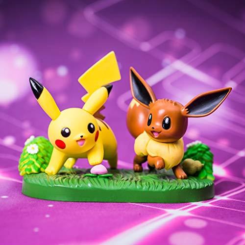 WJP Spielzeug Statue Pokemon Spielzeug Modell Elf Poco Traum Cartoon Charakter Sammlung Andenken Ibrahimovic 8 cm -