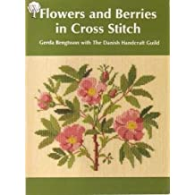 Flowers and Berries in Cross-stitch