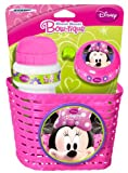 Stamp K863508 - Accessori per  Bicicletta Minnie Bowtique Cestino + Borraccia + Campanello