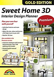 sweet home 3d premium edition interior design planner with an additional 1100 3d models and a. Black Bedroom Furniture Sets. Home Design Ideas