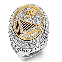 2015 NBa gold state warriors curry championship ring men's ring jewelry GM-JD0007SF