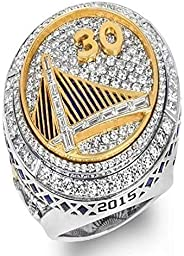 2015 NBa gold state warriors curry championship ring men's ring jewelry GM-JD00