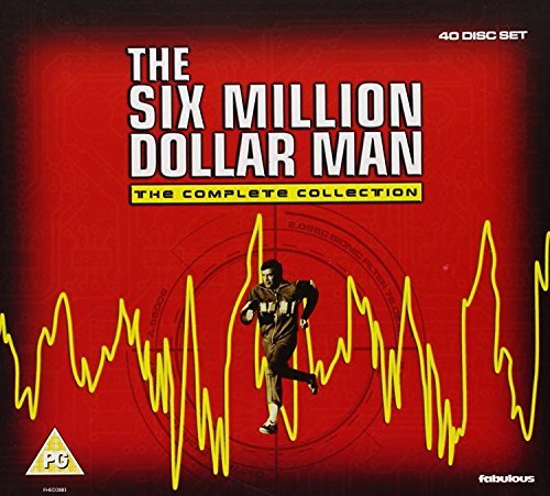 The Six Million Dollar Man - The Complete Collection [DVD] [2012]