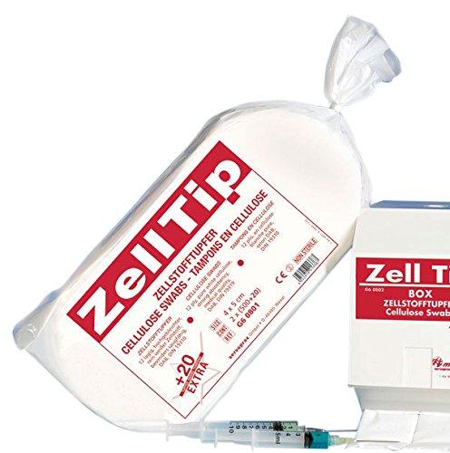 Zelltip 02512968 Zellstofftupfer, unsteril (1040-er Pack)