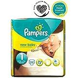 Pampers Nouveau Pack Couches Pour Bébés Taille 1 De Transport - 23 Langes -