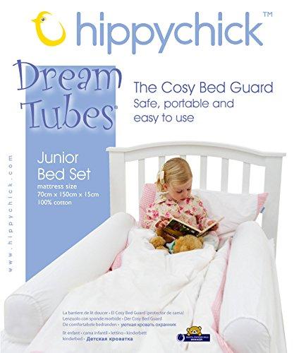 Hippychick DM02000HC - Set para cama infantil, 70 x 140 cm, color blanco