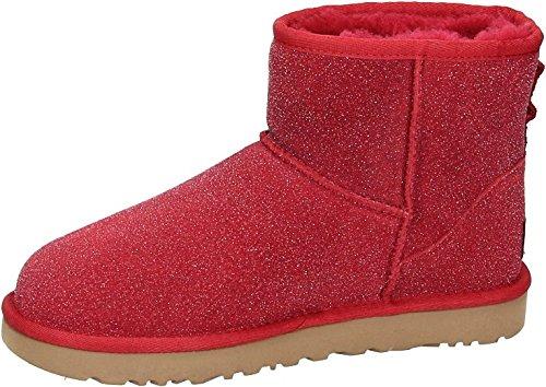 Lammfell-leder-mini (UGG CLASSIC MINI SEREIN Stiefel 2017 red, 40)