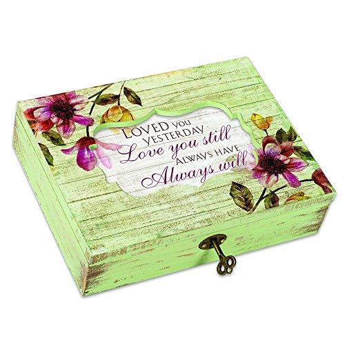 (Cottage Garden Love You Still Always Will Floral Mittelmeer Spieluhr Spielt You Light up My Life)