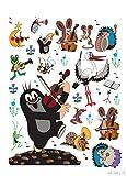 Wand Sticker DK 1786 kleine Maulwurf