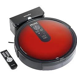 Miele Scout RX1 Red - SJQL0 Rojo aspiradora robotizada - Aspiradoras robotizadas (Rojo, Alrededor, 60 dB, Auto, Manual, Mancha, Turbo, Ión de litio, 2200 mAh)