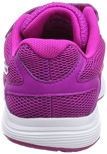 Puma Engine V Ps, Sneakers Basses Mixte Enfant Blanc (Puma White-ultra Magenta 03)