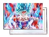 Goku Dragon Ball Super - 60x40 cm - Bilder & Kunstdrucke fertig auf Leinwand aufgespannt und in erstklassiger Druckqualität