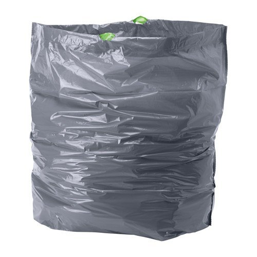 Ikea förslutas bolsas de basura en gris; (72L); 14unidades)