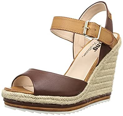 MTNG 52353 - Sandales pour femme, brown (stain moka), taille 39
