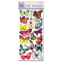 Violette Stickers Ghost Butterflies