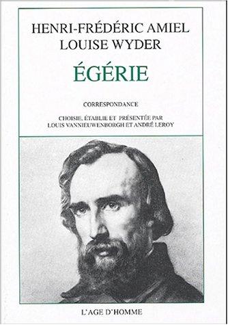 Egérie : Corerspondance 1853-1868