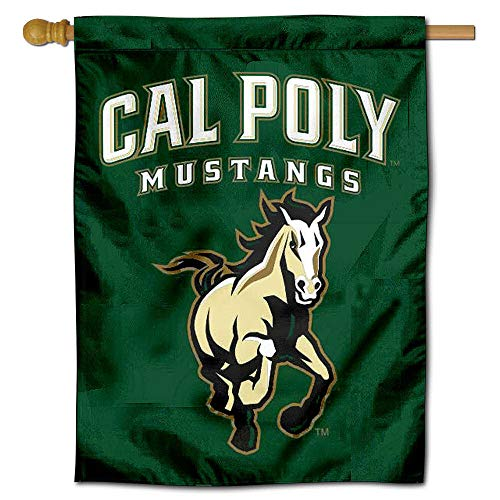 College Flags and Banners Co. Cal Poly Banner House Flagge - Poly Flag Banner