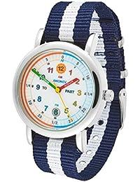 Reloj infantil Amonev, para aprender a leer la hora, para niños y niñas.