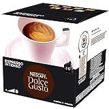 Nescafé - 16 x Dosettes / Capsules de Café Dolce Gusto® - Espresso Intenso