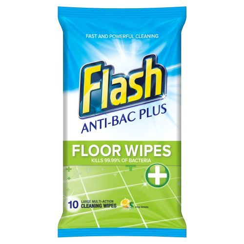flash-anti-bacterial-plus-cleaning-floor-wipes-lemon-scent-10-wipes