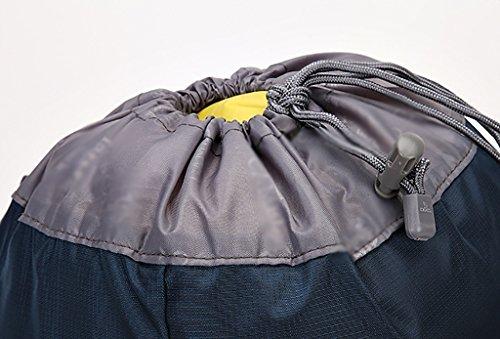 zaino trekking Outdoor 15L Uomini E Donne pieghevole Borsa a tracolla di pelle Borsa sportiva Escursionismo Bag (43 * 28 * 12cm) Zaini da escursionismo ( Colore : A , dimensioni : 20L-43*28*12cm ) A