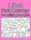 Libro Para Colorear Per Niñas De 6 Años