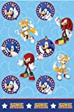 Sonic Tablecover for Disposable Party Tableware