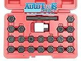 Audi unique de roue de verrouillage de clés pour écrous de roue antivol Master Kit de 2002–12