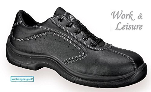 lites-footwear-by-safeway-a398-39-shoes-side-perforated-lace-up-size-39-black