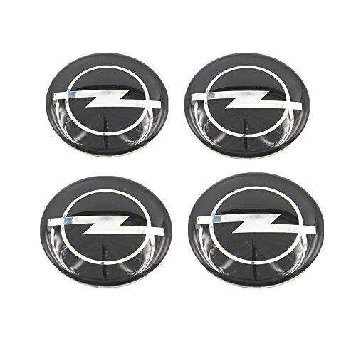 Opel ★4 Stück★ 60mm Aufkleber Emblem für Felgen Nabendeckel Radkappen